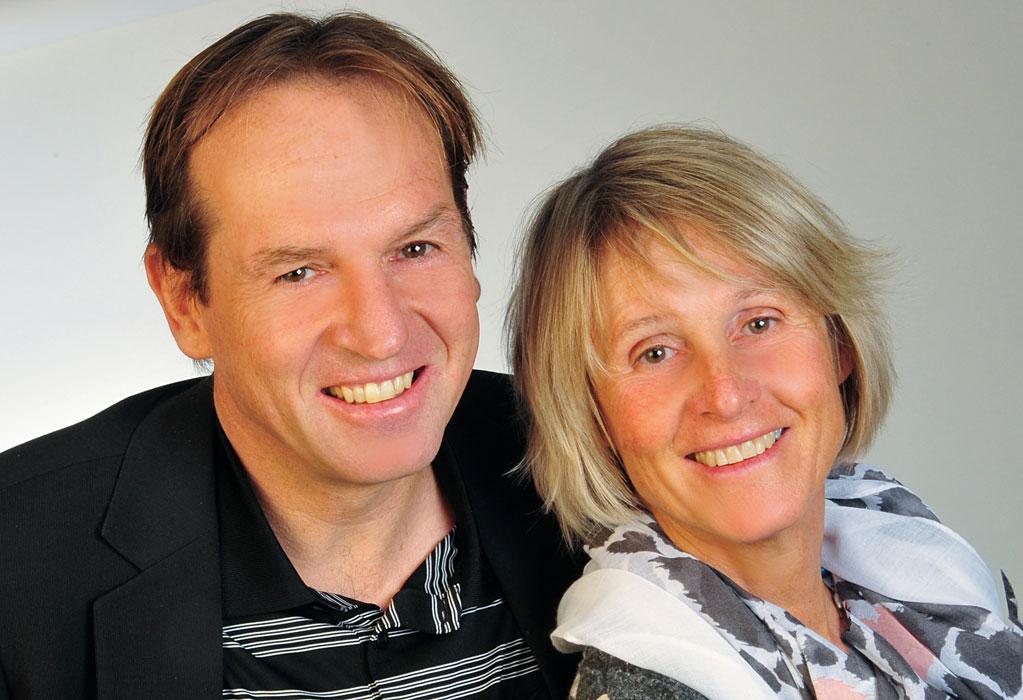 Marion Franzen und Wolfgang Persau